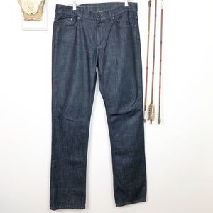 Joe's Jeans Super Dark Wash Straight Leg 33 I